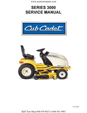 3206 cub cadet wiring diagram cub cadet 3000 series service manual pdf download  cub cadet 3000 series service manual