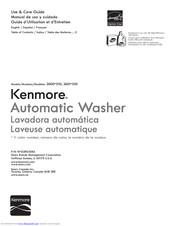 Kenmore 2600 010 Use & Care Manual