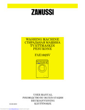 Zanussi FAE1025V Owner's Manual