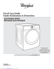 Whirlpool W10529643A-SP Use & Care Manual