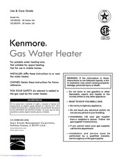 Kenmore 153.330270 Use & Care Manual