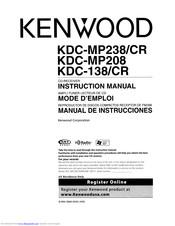 [DIAGRAM_5NL]  Kenwood KDC-MP208 - Radio / CD Manuals | ManualsLib | Kenwood Kdc Mp208 Wiring Diagram |  | ManualsLib