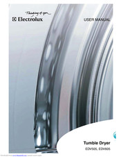 Electrolux EDV605 User Manual