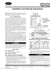Carrier 38Yca/Ycn Heat Pump Wiring Diagram from data2.manualslib.com