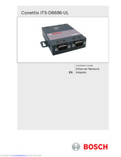 Bosch Conettix ITS-D6686-UL Installation Manual