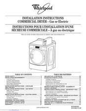 Whirlpool W10184516C Installation Instructions Manual