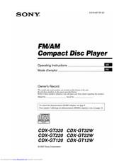 sony cdx gt32w wiring diagram sony cdx gt320 operating instructions manual pdf download  sony cdx gt320 operating instructions