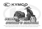 KYMCO People S 250 Owner's Manual