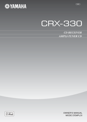 Yamaha CRX-330 Owner's Manual