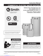 Ao Smith Hot Water Heater Dse 50-9 Wiring Diagram from data2.manualslib.com