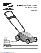 neuton mower wiring diagram neuton ce 5 3 safety   operating instructions manual pdf download  operating instructions manual