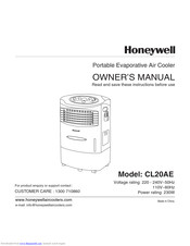 Honeywell CL20AE Owner's Manual