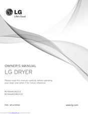 LG RC8043A1Z Owner's Manual