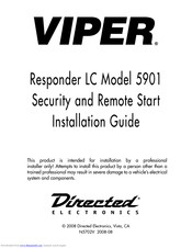 [SCHEMATICS_48ZD]  VIPER 5901 INSTALLATION MANUAL Pdf Download | ManualsLib | Viper 5900 Wiring Diagram |  | ManualsLib