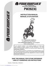 PowerWasher PW2623C Instruction Manual
