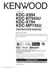 kenwood kdc x494 wiring diagram kenwood kdc x994 manuals manualslib  kenwood kdc x994 manuals manualslib