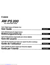 Canon AW-PS200 User Manual