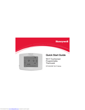 Honeywell RET97B5D Quick Start Manual