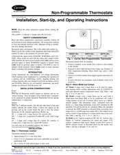 Carrier TSTATCCNHP01-B Manuals   ManualsLib   Tstatccprh01 B Wiring Diagram      ManualsLib