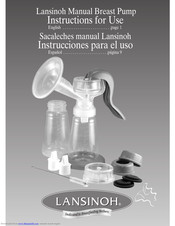 Lansinoh Breast Pump Instructions For Use Manual Pdf Download