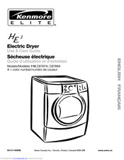 Kenmore 110.C8789? Use & Care Manual