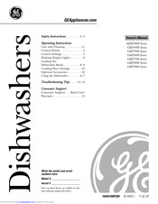 GE Appliances GSD5600 Series Owner's Manual