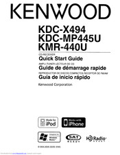 Kenwood Kdc X494 Manuals Manualslib