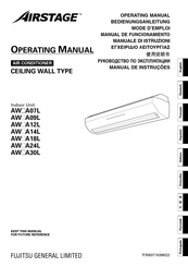Fujitsu AirStage AW A07L Operating Manual