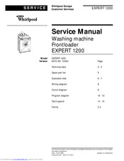 Whirlpool EXPERT 1200 Service Manual