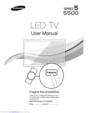 Samsung UN32D5500RF User Manual