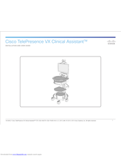 Cisco TelePresence VX Clinical Assistant Installation And User Manual