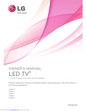 Lg 39ln549e Za Manuals Manualslib