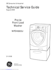 GE Profile ENERGY STAR WPDH8800J Technical Service Manual