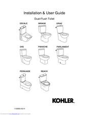 Awesome Kohler Escale Installation User Manual Pdf Download Forskolin Free Trial Chair Design Images Forskolin Free Trialorg