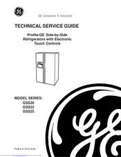 GE GSS20 SERIES TECHNICAL SERVICE MANUAL Pdf Download | ManualsLib | Ge Gss22 Refrigerator Wiring Schematic |  | ManualsLib