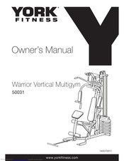 York Fitness 50031 Owner's Manual