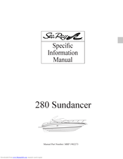 sea ray 280 sundancer manuals | manualslib  manualslib