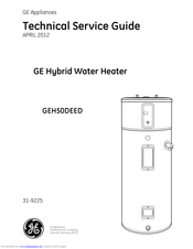 GE GeoSpring GEH50DEED Technical Service Manual