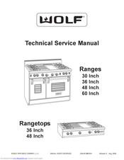 Wolf RT366 Manuals | ManualsLib | Wolf Range Wiring Diagram |  | ManualsLib