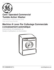 GE Tumble action washer Installation Instructions And Use & Care Manual