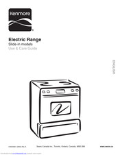 Kenmore c970-440191 Use & Care Manual