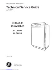 GE GLDA696 Technical Service Manual