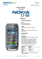 Nokia RM-675 Manuals
