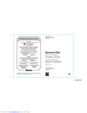 Kenmore 100.06905 Use & Care Manual