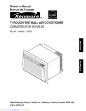 Kenmore 35932 Owner's Manual