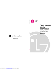 LG 99G User Manual