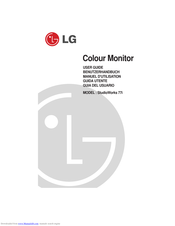 LG StudioWorks 77i User Manual