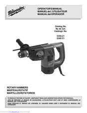 Makita 5360-21 Operator's Manual