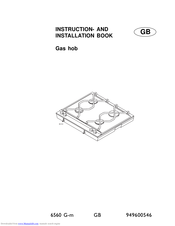AEG 6560 G-M Instruction And Installation Book