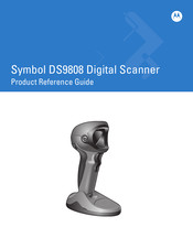Motorola DS9808 - Symbol - Wired Handheld Barcode Scanner Product Reference Manual